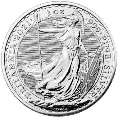 2021 1oz Silver BRITANNIA - New Security Features