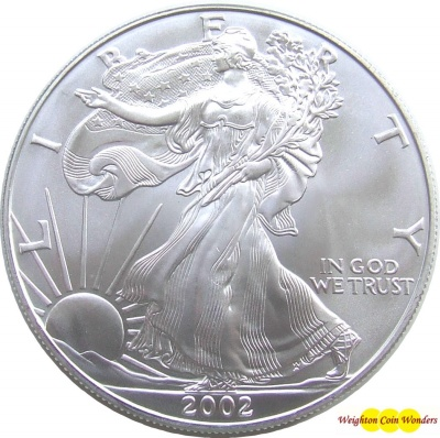 1oz Silver American Eagle - Date Our Choice