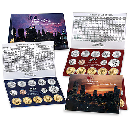2009 United States Mint Uncirculated Coin Set (P & D)