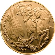 2012 Gold SOVEREIGN - New Design - Back In Stock