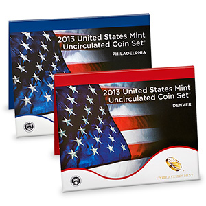 2013 United States Mint Uncirculated Coin Set (P & D)