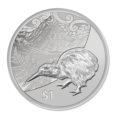 2014 Silver 1oz KIWI - Blister Pack