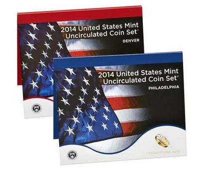 2014 United States Mint Uncirculated Coin Set (P & D)