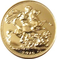 2015 Gold SOVEREIGN - Now In Stock