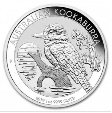2019 1oz Silver KOOKABURRA - NOW IN STOCK