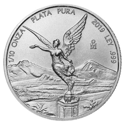 2019 1/10th oz Silver LIBERTAD