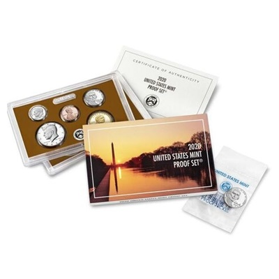 2020 United States Mint Proof Coin Set