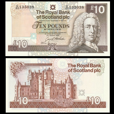 1994 Royal Bank of Scotland Plc £10